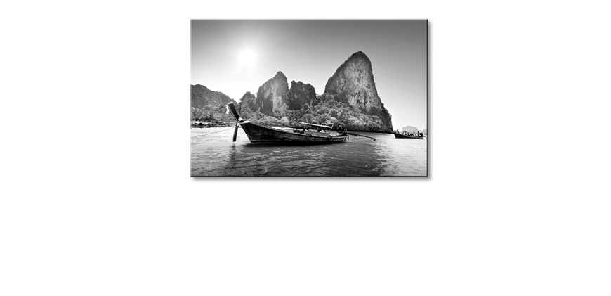 La-belle-peinture-Boats-on-Railay