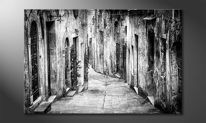 La belle peinture Charming Old Streets