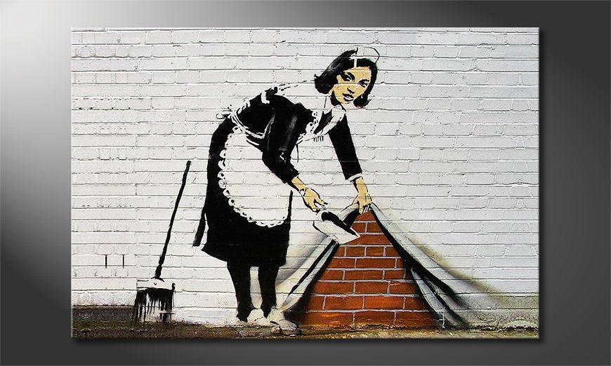 La toile imprimée Banksy No19
