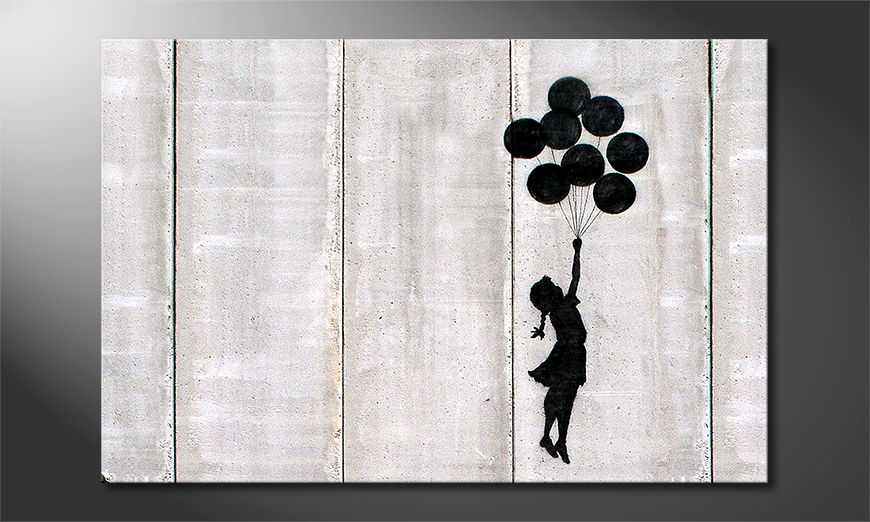 La toile imprimée Banksy No3