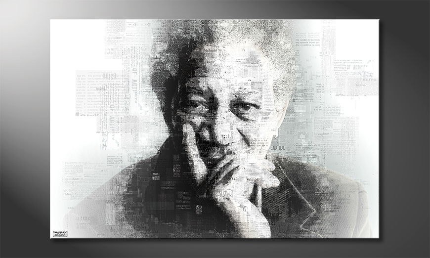La toile imprimée Morgan