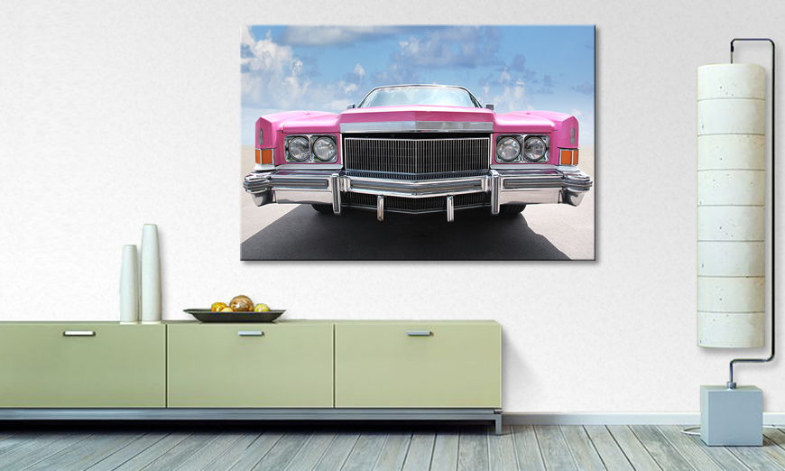 Le tableau culte Pink �Cadillac