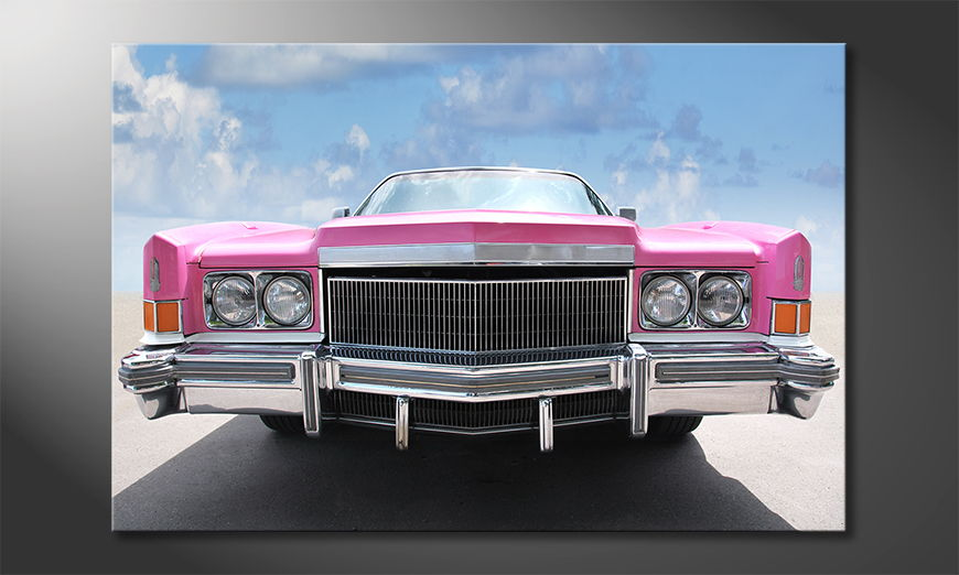 Le tableau culte Pink Cadillac