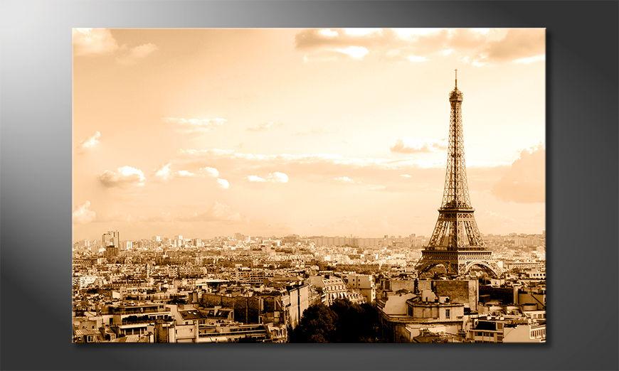 Le tableau imprimé Paris II