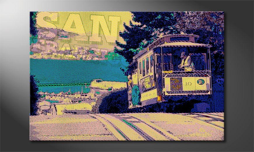 Le tableau imprimé San Francisco