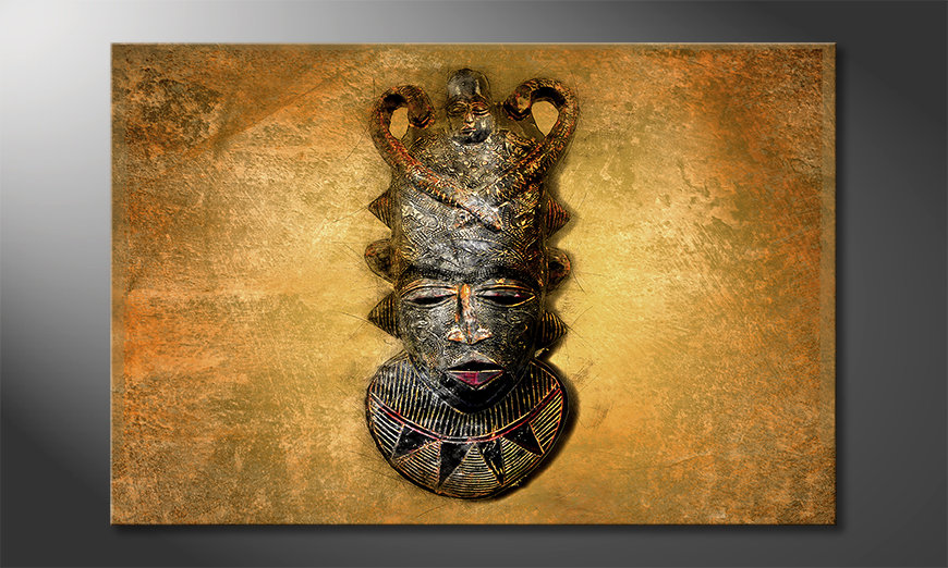 Le tableau moderne African Mask