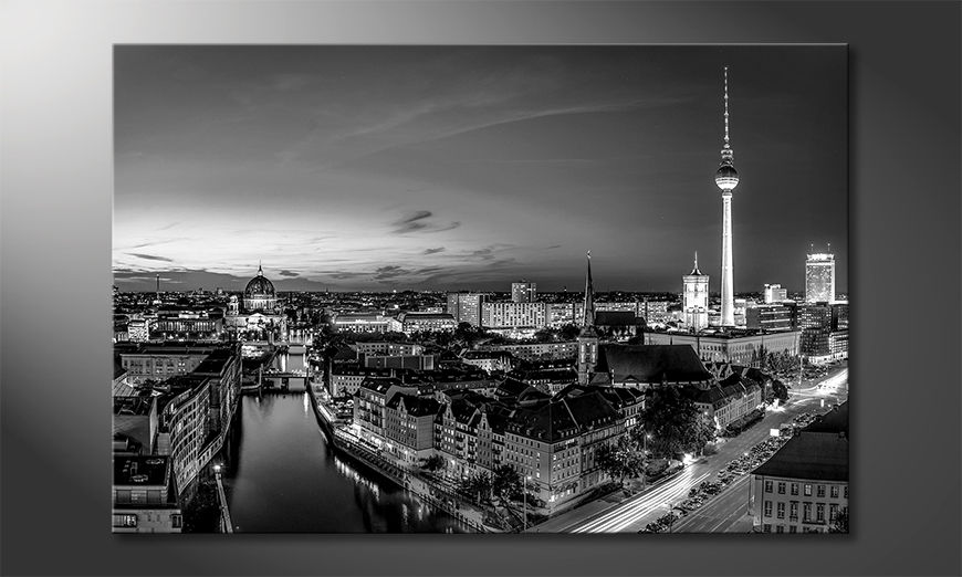 Le tableau moderne Berlin City