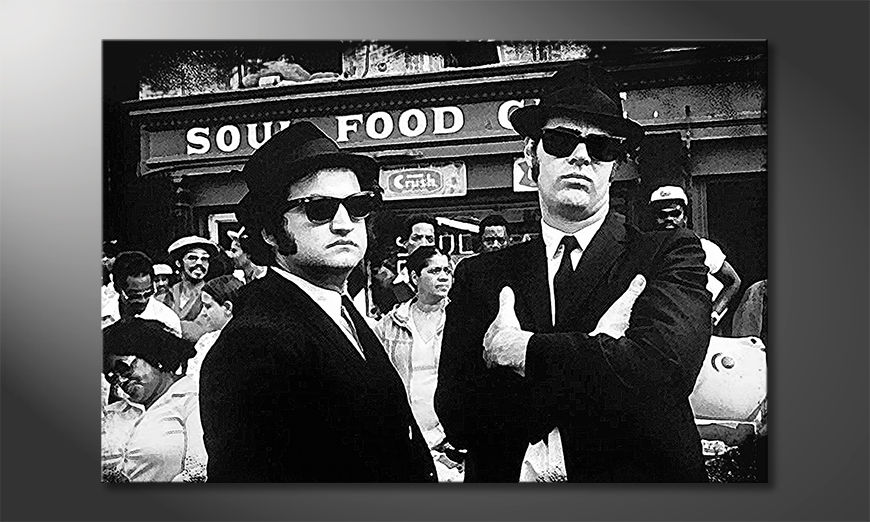 Le-tableau-moderne-Blues-Brothers