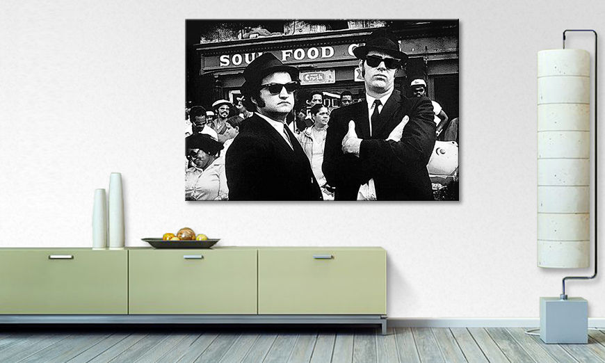 Le tableau moderne Blues Brothers