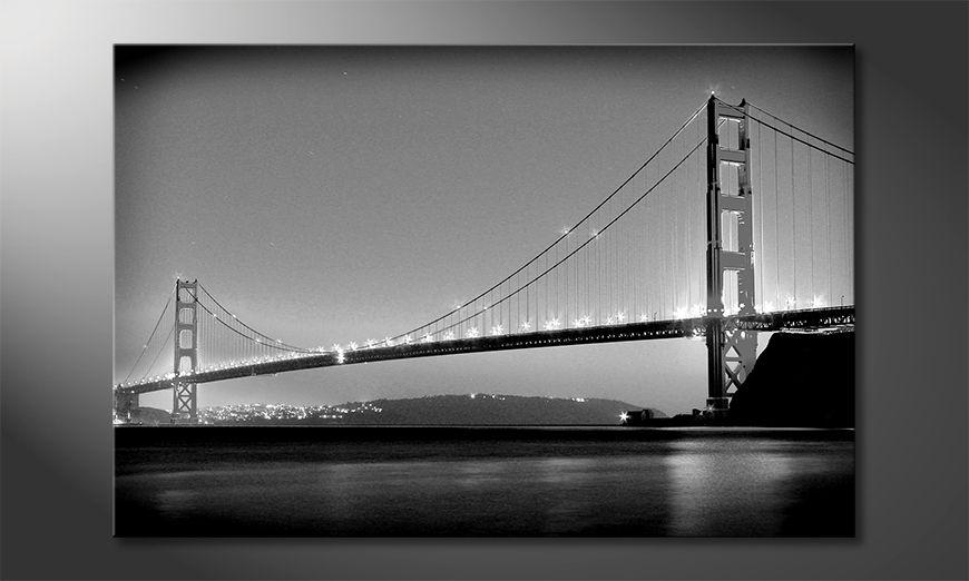Le tableau moderne Golden Gate