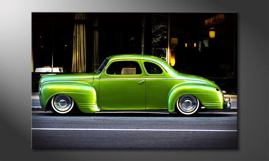 Le tableau moderne Green Car