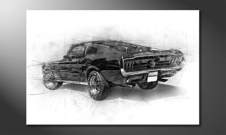 Le tableau moderne Pure Mustang