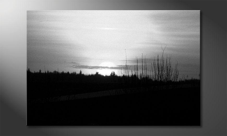 Le tableau moderne Sunset Sky