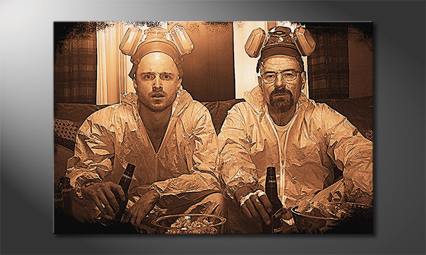 Le-tableau-mural-Breaking-Bad