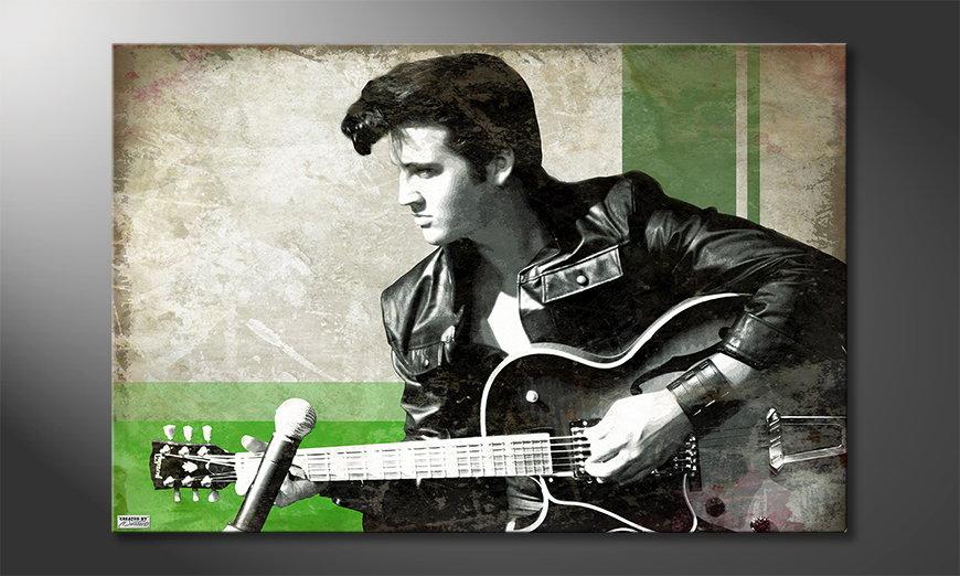 Le tableau mural Elvis