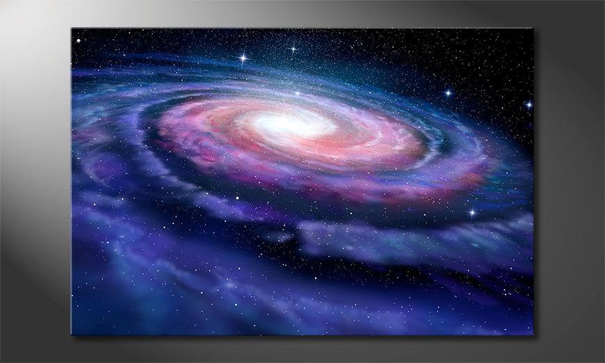 Le tableau mural Far Galaxy