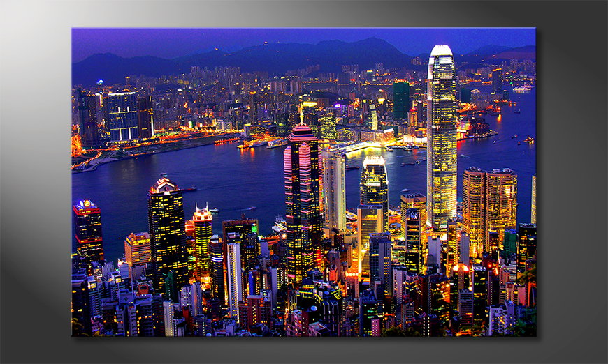 Le tableau mural Hong KongView
