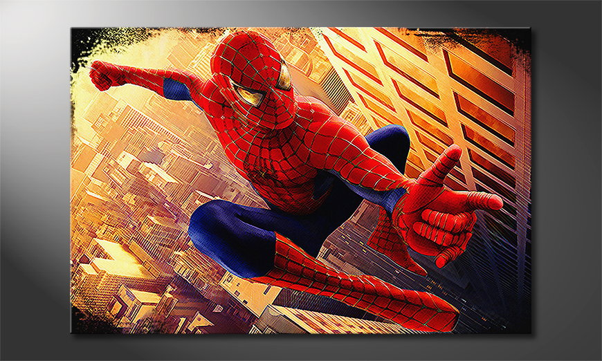 Le tableau mural Instant Spiderman