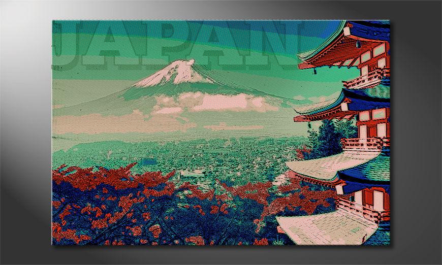 Le tableau mural Japan