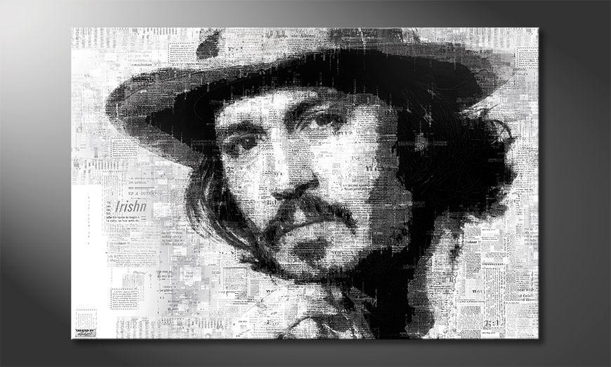 Le tableau mural Johnny