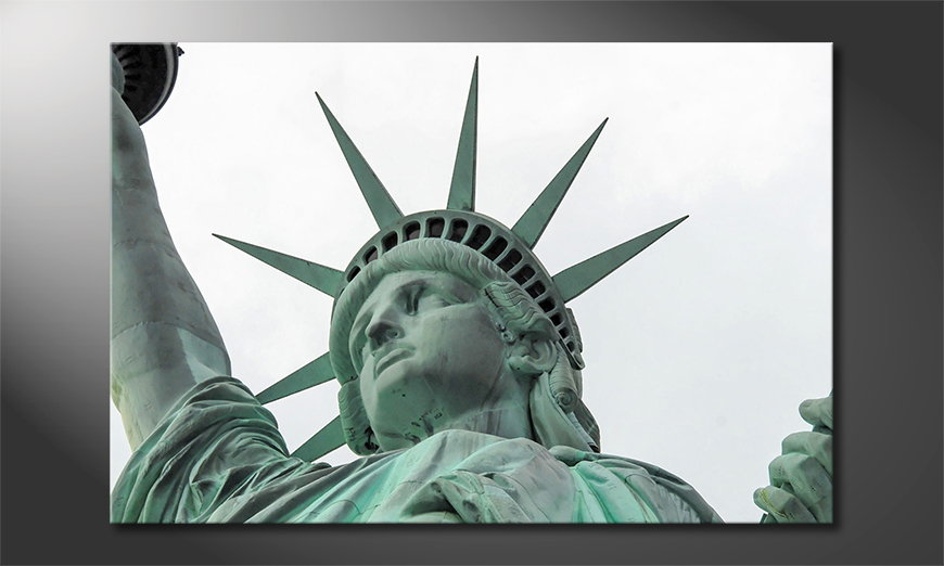 Le tableau mural Liberty