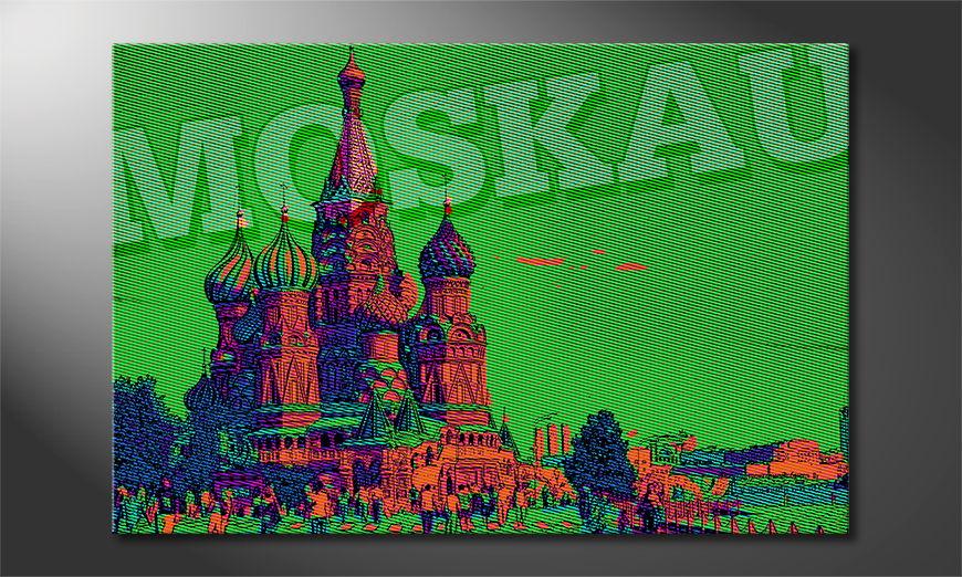 Le tableau mural Moscou