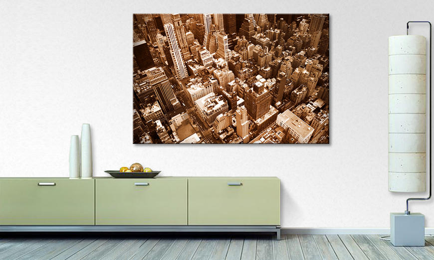 Le tableau mural New York �City