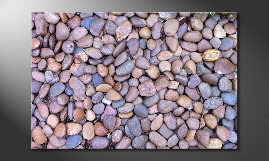 Le tableau mural Rock Texture