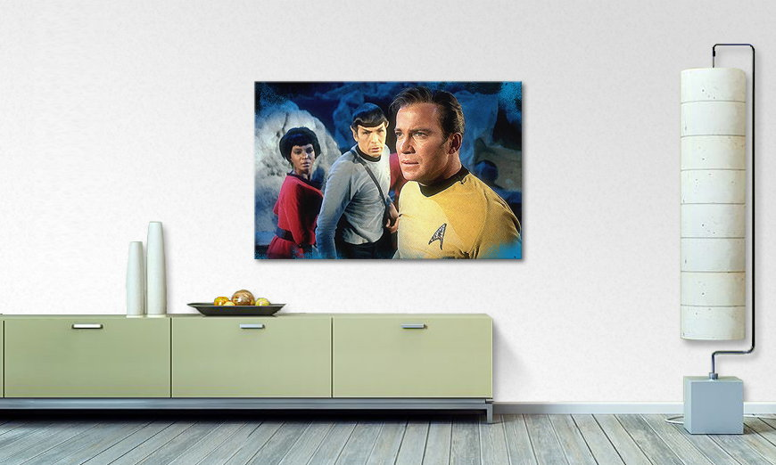 Le tableau mural Star Trek Enterprise 120x80cm