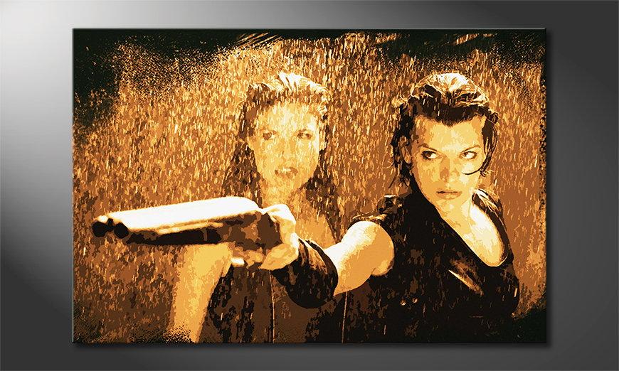 Le tableau mural imprimé Resident Evil