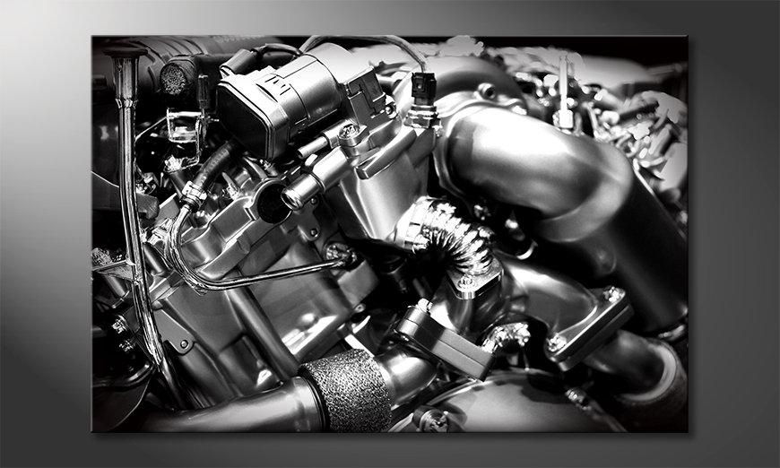 Le tableau pour salon Engine