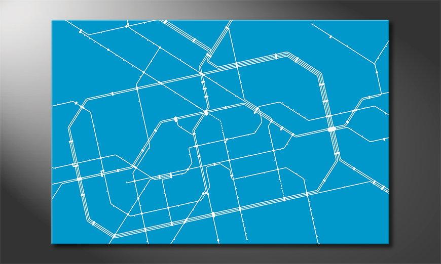 Le tableau tendance Metro Berlin