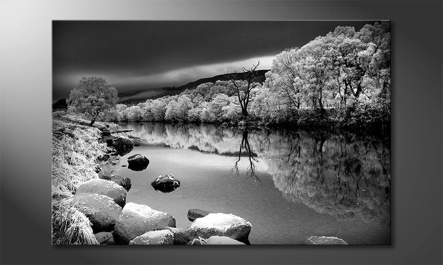 Les tableau imprimés Mystic River
