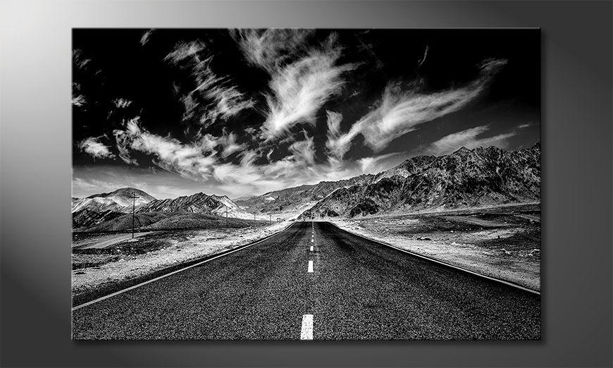 Les tableau imprimés Road To Himalaya