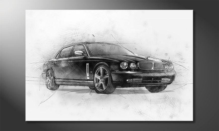 Les tableaux imprimés Black Jag