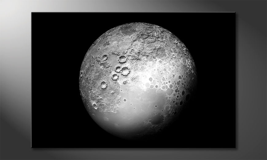 Les tableaux imprimés The Moon