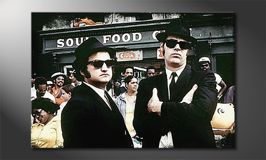 L'impression Instant The Blues Brothers