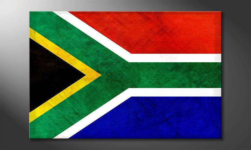 L'impression sur toile Afrique du Sud