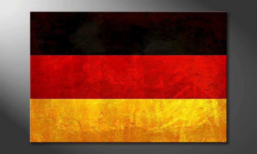 L'impression sur toile Allemagne