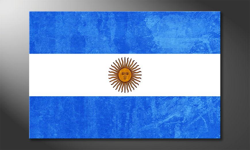 L'impression sur toile Argentine