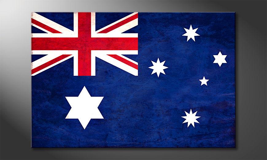 L'impression sur toile Australie