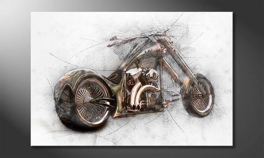 L'impression sur toile Bad Bike