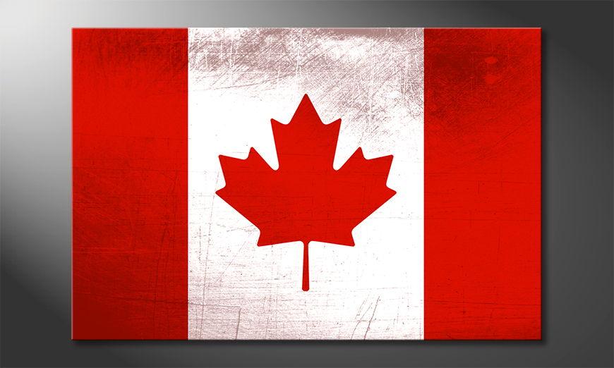 L'impression sur toile Canada