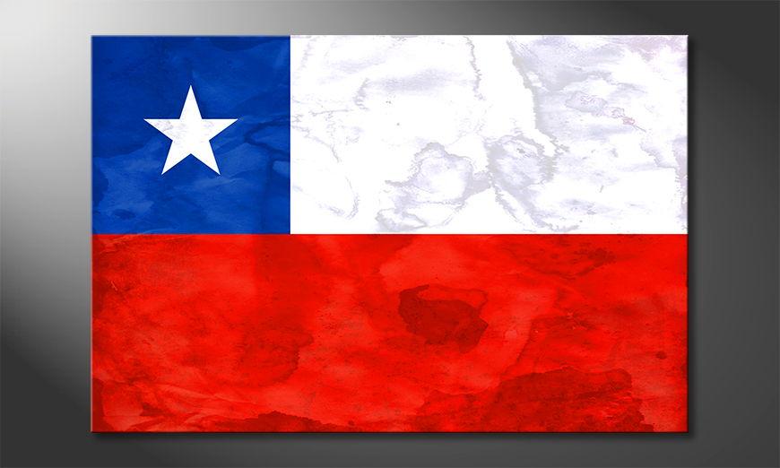 L'impression sur toile Chile