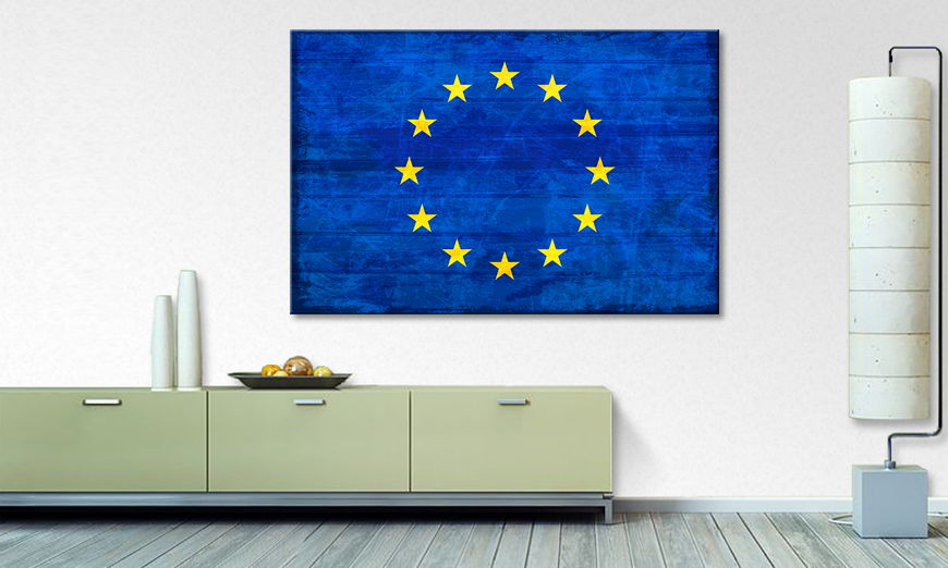 Limpression sur toile Europe