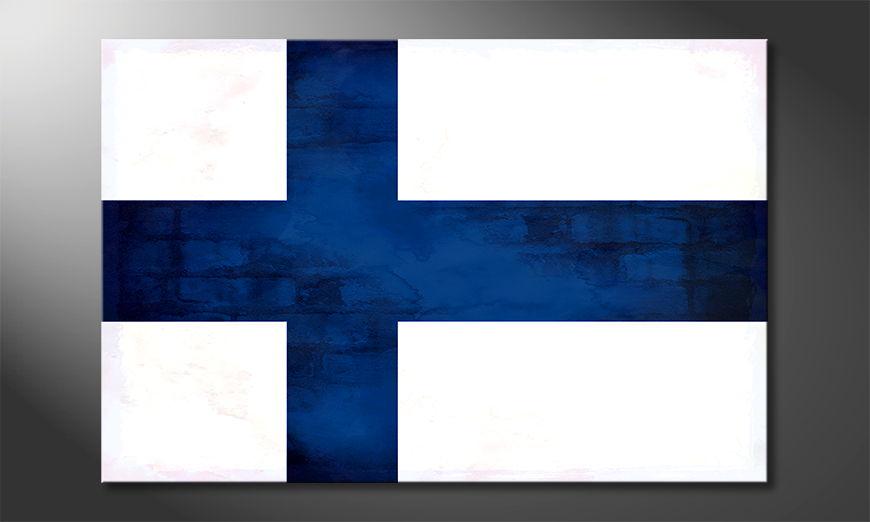 L'impression sur toile Finlande