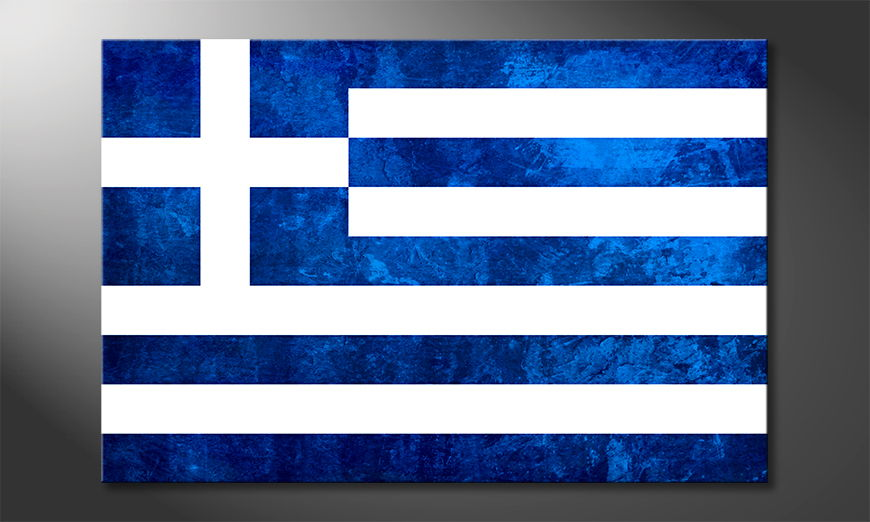 L'impression sur toile Grèce