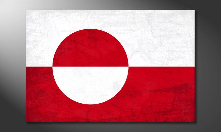 L'impression sur toile Grönland