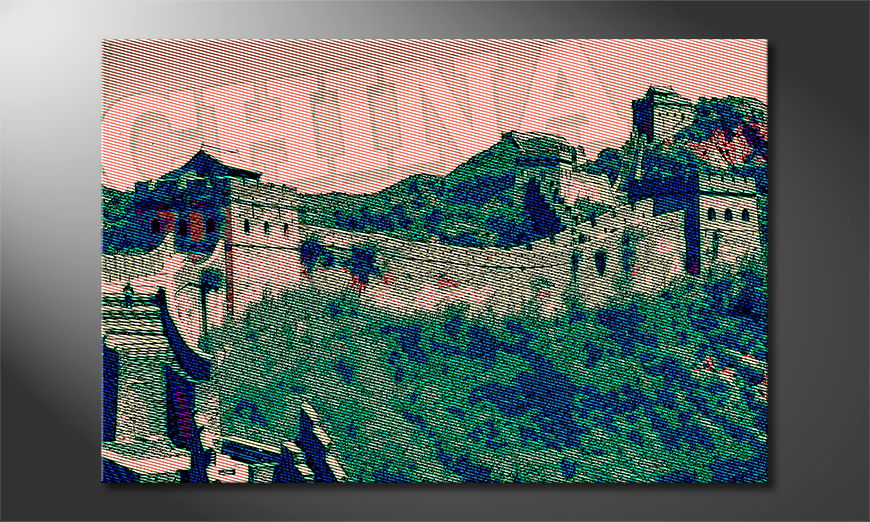 L'impression sur toile Grande Muraille de Chine