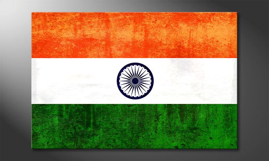 L'impression sur toile Inde